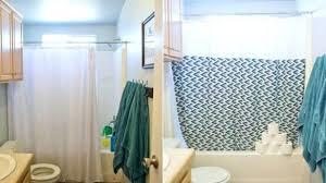 Diy No Sew Shower Curtain A Bathroom Design Craft Our Holly Days How To  Make 10 ...