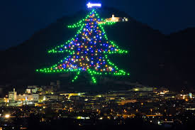 Live Italian - Our Italian Kitchen Table - Culture - The Biggest Christmas  Tree in the World