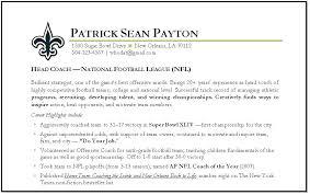 Football Coach Resume Sample Best of Football Coach Resume Example Football Coaching Resume Samples