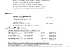 Veterinary Technician Resume Objective Yun56 Co Templates Collection