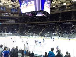 Madison Square Garden New York Rangers Virtual Seating Chart