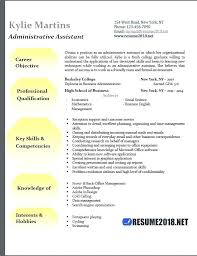 Administrative Resume Sample Admin Assistant Format Executive ...