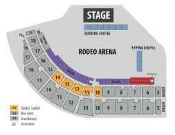 concert layout washington state fair rodeo seat map rodeo seating layout