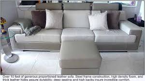 fine italian leather furniture. over 10 feet of pure luxury covered in buttery soft italian leather fine furniture a