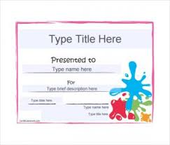 Award Blank Art Award Blank Gift Certificate Pdf Template Edit Blank