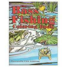 Small Picture Bass Fishing Coloring Book Coloring Book for Boys JM Cremps
