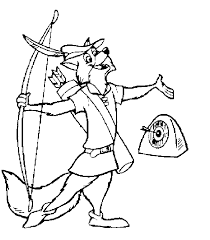 Small Picture Disney Robin Hood Coloring Pages robin hood fun Pinterest
