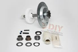 gear and sprocket assembly belt drive 2002 present replace craftsman garage door opener gear