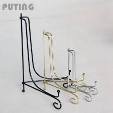 Metal Plate Display Stands Cool Iron Easel Display Stand Bowl Picture Plate Frame Firm Artwork