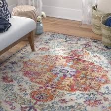 Carpet Colors For Living Room Delectable Mistana Hillsby Saffron Area Rug Reviews Wayfair