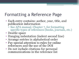 Ppt Apa Reference Page Powerpoint Presentation Id3074338