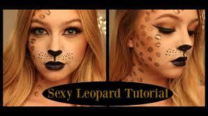 y leopard makeup tutorial