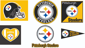 Steelers Applique Design Pittsburgh Steelers Svg Dxf Eps Logo Silhouette Studio Transfer Iron On Cut File Cameo Cricut Iron On Decal Vinyl Decal Layered Vector