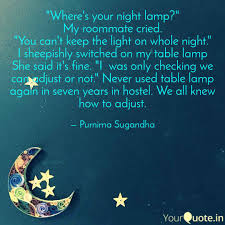 Wheres Your Night Lamp Quotes Writings By Purnima Singh