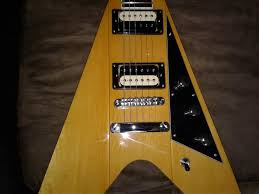 f s reverend volcano flying v natural korina click image for larger version image jpg views 26 size