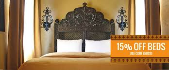 carved lattice headboard indian style pillows