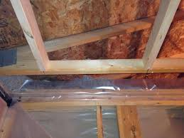What Is Correct Vapour Barrier Method For Bathroom Ceiling In A - Bathroom venting into attic