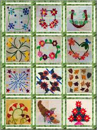 Fanciful Floral FourSquare Quilt Setting - 3 Part Sashing - Lyn ... & Of course, you can set your blocks any way you like. And of course, this  setting works for ANY group of 12 ea. 12″ finished blocks! The Three Part  Sashing ... Adamdwight.com