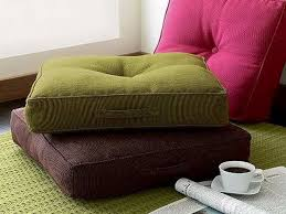 I love sitting on the floor while I meditate or work on sketching so floor  pillows. Oversized ...