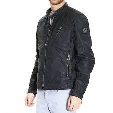 belstaff v racer slim fit leather jacket