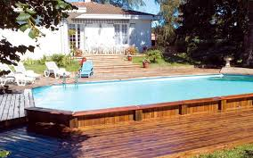 square above ground pool with deck. Perfect With Relaxing Above Ground Pools With Decks For An Outdoor Party  Great  Pool Deck In Square With D