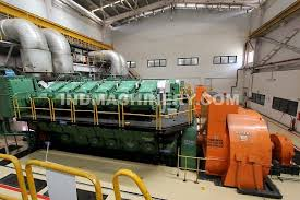 Diesel Power Plant 30 MW with MAN 3 x 12V4860 diesel generators