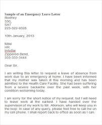 42 Leave Letter Samples Pdf Word Apple Pages