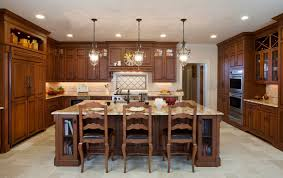 Country Kitchens On A Budget Kitchen Designs Island With Dishwasher And Seating French Country
