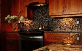 Kitchen Backsplash Ideas With Dark Cabinets Kitchen Unique Black