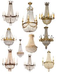 first class french empire crystal chandelier crowned magnificence the house 19th c uk