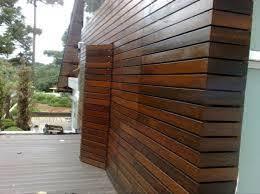 Ripados com acabamento natural sem manutenção para fachada. Foto Fachada De Madeira De Absolutta Gesso E Pintura 662210 Habitissimo