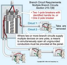 branch circuits part one <b>fig 3 < b> multiwire branch