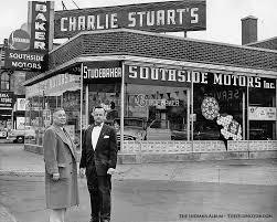charlie stuart s indianapolis studebaker dealership 1955