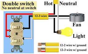 how to wire switches Comon Single Pole Switch Wiring Diagram Combination Light Switch Wiring Diagram
