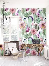 3d Floral Wall Murals Black And White ...