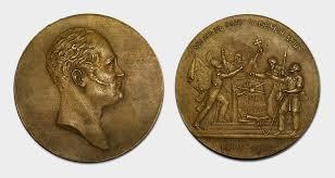 Отечественная война года Настольная медаль В память столетия Отечественной войны 1812 года