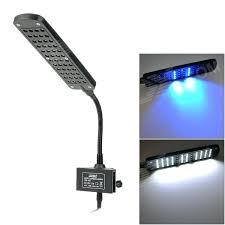 led clamp lamp jab cm touch control led white blue light aquarium clamp lamp black lightworks