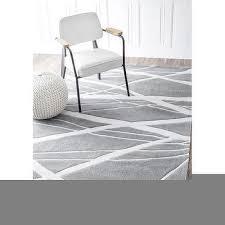 nuloom handmade pino geometric grey modern byways rug