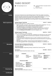 Microsoft Resume Example Resume Examples By Real People Desktop Support Technician