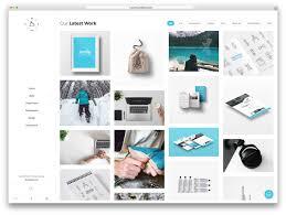 Art Portfolio Design Ideas 60 Best Wordpress Portfolio Themes 2020 Colorlib
