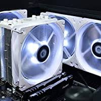 <b>ID</b>-<b>COOLING XF-12025-RGB-TRIO</b>-SNOW 120mm Case Fan 12V ...