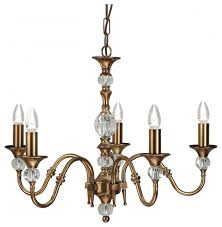 pendant light antique brass finish clear crystal k9 glass detail transitional pendant lighting by happy homewares limited