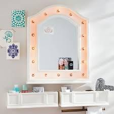 hannah wall mounted light up mirror