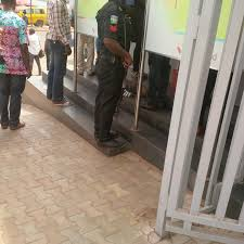 Image result for nigeria Police Officers atm cash