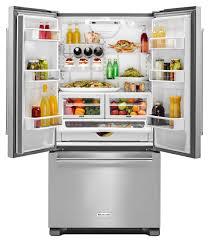 KitchenAid Stainless French Door Refrigerator- KRFC302ESS