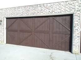 garage door padre brown solid