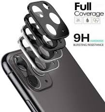 For iPhone 11 Pro Max Full Cover <b>20D Tempered Glass</b> Camera ...