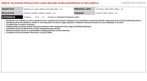 Schedule Clerk Sample Resume Sample Clerk Resume Entry Level
