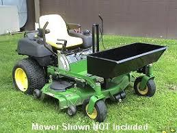 zero turn lawn mower accessories. zero turn quick-dump load hauler lawn mower accessories d