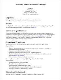 Cover Letter For Resume Veterinarian Cover Letter Resume
